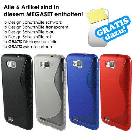 Samsung Ativ S Hüllen 4x + 1x Displayfolie