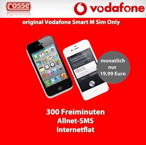 Vodafone Smart M  + Iphone 4S für 20€ Monatlich
