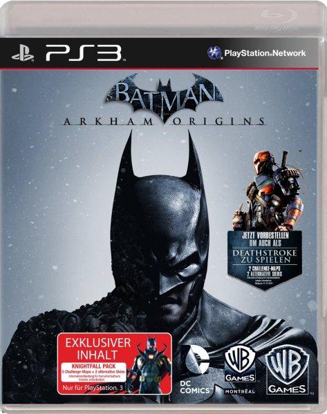 """[Lokal?] MediaMarkt Berlin """"Batman: Arkham Origins"""" für PS3/XBOX für 35€"""