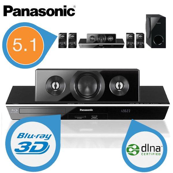 Panasonic BTT400 3D Blu-Ray Player mit DLNA und 5.1 Sound für 188,90€ @iBOOD