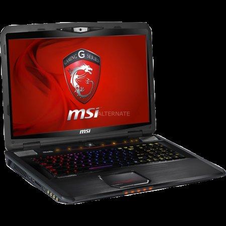 "Gamingnotebook MSI ""GT70-75X287B"" i7, 8GB RAM, GTX675mx, Blue-ray, 750gb  bei ZackZack"