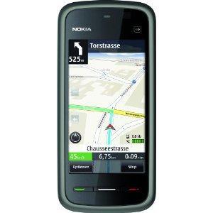 Nokia 5230 Navigation Edition - als Navi mit immer kostenlos aktuellen Karten perfekt...