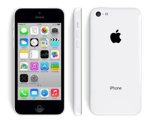 """Apple™ - iPhone 5c Smartphone (4"""" IPS 1136x640,8MP LED/AF Cam,16GB,LTE,Weiß) [Vodafone-Lock bis 31.12.2013] für €428,39 [@MeinPaket.de]"""