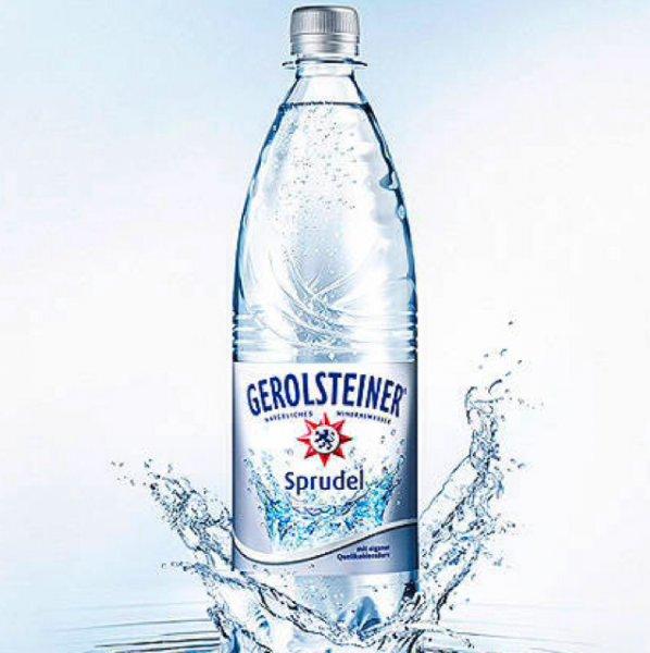 [offline Metro] Gerolsteiner Mineralwasser 12x1 Liter in Plastikflaschen