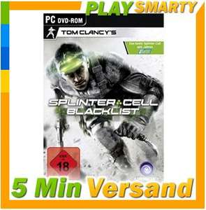 Tom Clancy's Splinter Cell Blacklist Standard Edition PC CD Key Download CODE
