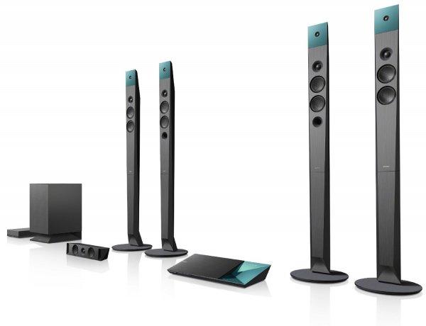 Sony BDV-N9100WB 5.1 Blu-ray Heimkinosystem (1000 Watt, 3D, W-LAN, Bluetooth, NFC) schwarz [mit qipu 486,23 €, max. Ersparnis ggü. idealo.de (ab 754,00 €) damit ca. 35%]
