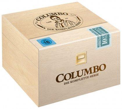 Columbo - Die komplette Serie / Limitierte Holzbox (DVD) o. Vsk für 81,99 € @ media-dealer.de