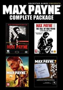 [Steam] Max Payne Komplett Bundle für rund 9€ @ Gamefly