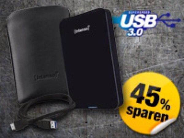 "1 TB externe 2,5"" festplatte mit USB 3.0"