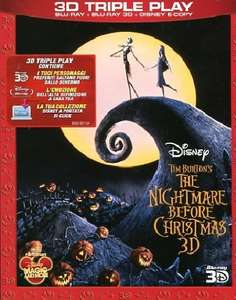 The nightmare before Christmas (2D+3D+e-copy) [Blu-ray] [IT Import]  Amazon DE!