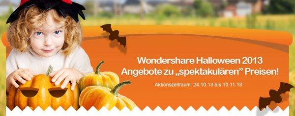Bis zu 40% Rabatt zum Halloween von Wondershare