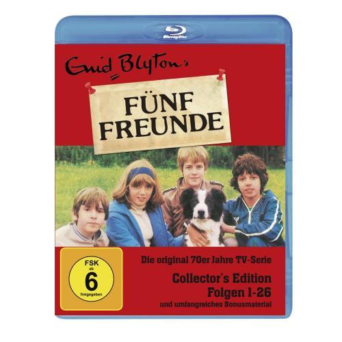 Enid Blyton - Fünf Freunde Box, Folgen 01-26 (Collector's Edition) Bluray für 35,99€ @ promarkt.de