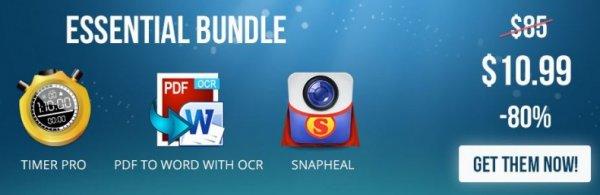 (MAC) Das Essential Bundle von AppyFridays mit 3 Apps für 7,97€
