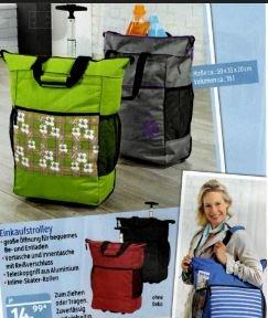 """[ALDI SÜD] Ryanair travel bag / """"Einkaufstrolley"""" 35L"""