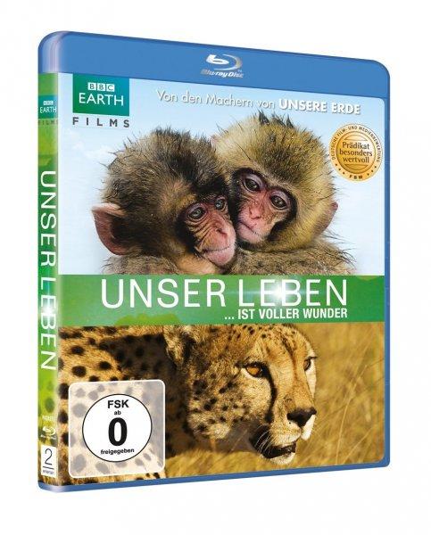 Unser Leben [Blu-ray]  BBC Doku für 7,50 € Amazon.de