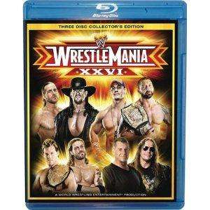 [Beendet - war wohl ein Preisfehler] WWE - WrestleMania 26 Blu-Ray (3 Disc) @Base.com