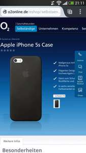 Apple iPhone 5s Case für 25€