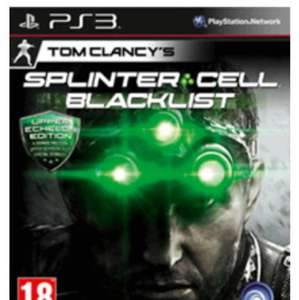 Splinter Cell Blacklist Upper Echelon Edition (PS3/X360) für 25,11 Euro inkl. Versand
