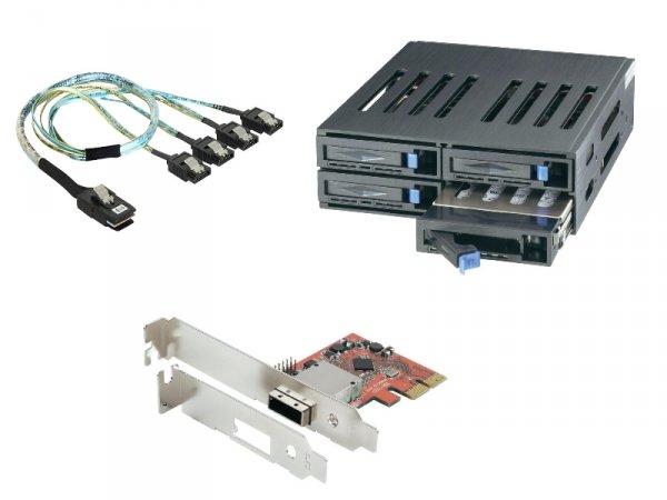 4 zusätzliche Festplattenplätze für HP Micro Server N54L