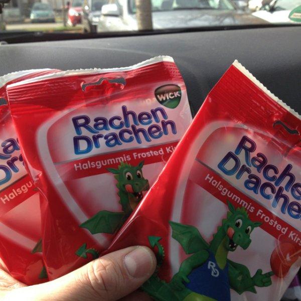 Rachen Drachen 3 x 75g = 1,00€ - Thomas Philips  [Lokal ? Berlin]