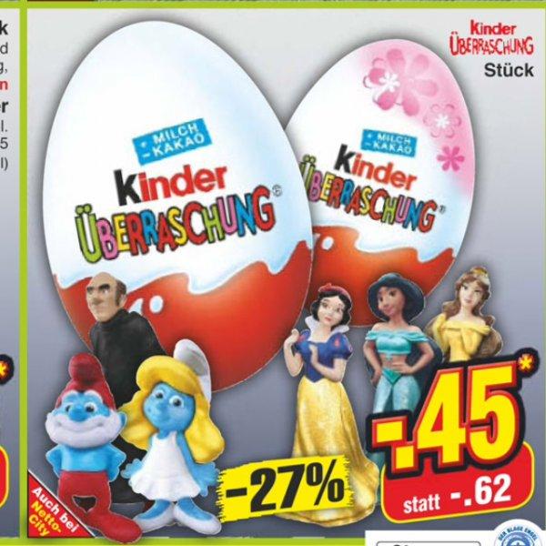 [Bundesweit Netto ohne Hund] Ferrero Ü-Eier 0,45€