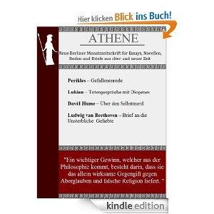 ATHENE - Neue Berliner Monatszeitschrift -  Ausgabe 4