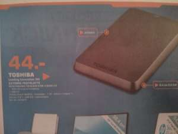 "[Lokal] Bremen - externe Festplatte 2,5"" 1TB USB 3.0 von Toshiba"