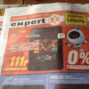 Amazon Kindle Fire 8 GB / Lokal im Expert Leipzig Burghausen