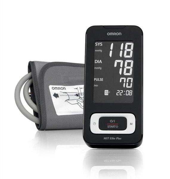 [Bis 18 Uhr] Omron MIT Elite Plus Oberarm-Blutdruckmessgerät  für 52,99€ frei Haus @Amazon Blitzangebot