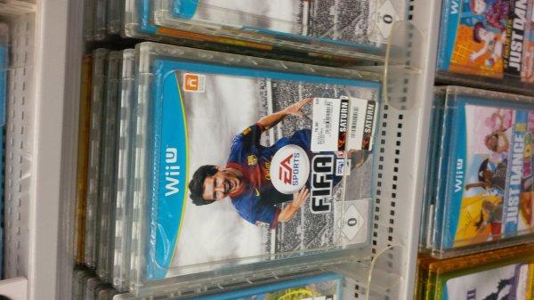 FIFA 13 für WII U nur  10€   Saturn hamm