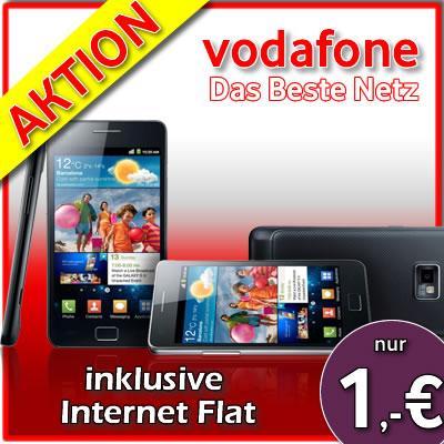 Samsung Galaxy S2 i9100 - Vodafone Internet Flat