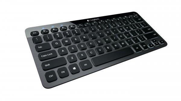 Logitech K810 - kleine Bluetooth Tastatur