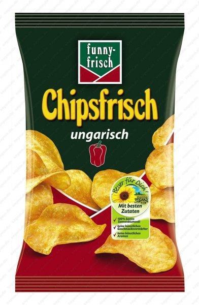 Jibi Markt: Funny-Frisch Chipsfrisch ungarisch, je 175 g Beutel nur 0,99 Euro