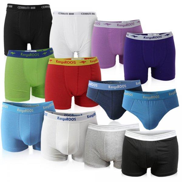 6er Pack Boxer & Slips - KangaROOS, Cerruti oder Pierre Cardin @ebay