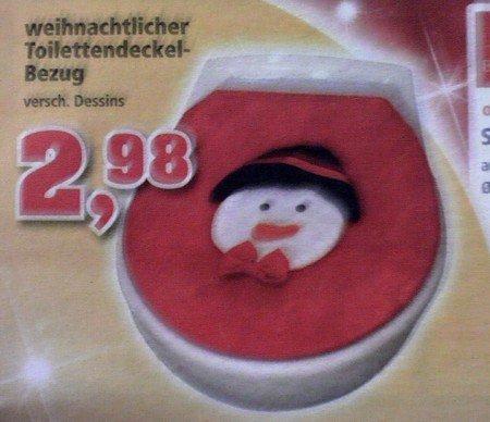 thomas philips weihnachtlicher frust toilettendeckelbezug (:-)