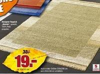 Design-Teppich von 38€ auf 19€ reduziert