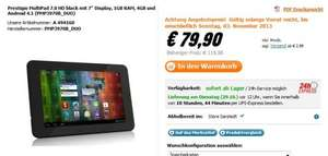 "Prestigio MultiPad Tablet 7.0 HD black mit 7"" Display, 1GB RAM, 4GB und Android 4.1 @NBB"