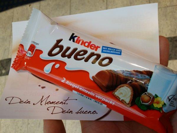 [lokal Rostock] Gratis Kinder Bueno im KTC