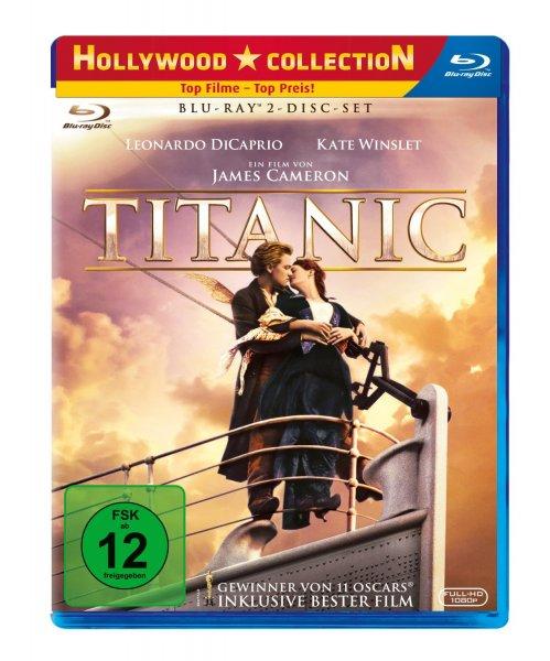 Titanic [Blu-ray] (2 Disc Set) für 8,97 @ amazon.de