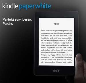 Exklusives Prime-Angebot: 30 EUR sparen Kindle Paperwhite