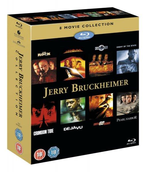 Jerry Bruckheimer 8 Movie Box (UK) [Blu-ray] für 16.95 €
