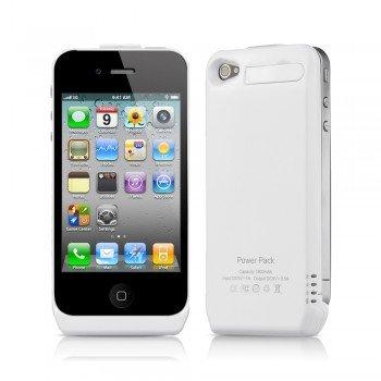 1800mAh Portables externes Backup iPhone4/4S Case-Power Akku