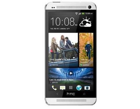 [OHA Meinpaket] HTC One Silber und Schwarz  Smartphone mit BeatsAudio