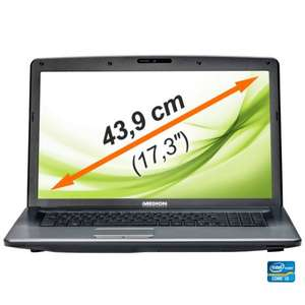 "[Ebay-Medion] MEDION P7818 MD 99160 Notebook 17"" LED 17,3""/43,9cm i3 2,4GHz 1000GB 8GB Windows 8 - für 399€ VSKfrei"