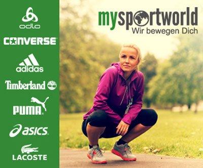 [DailyDeal] MySportWorld Gutschein Wert 50€ für 19,90 [MBW 70€]