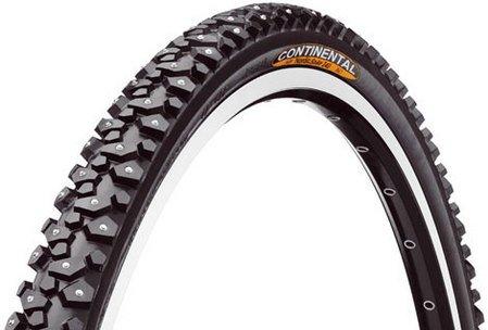 2 Stück Winterfahrradreifen Continental Nordic Spike 240 Größe 42-622 bei bike discount