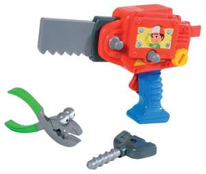 Mattel P1478 - Fisher-Price Meister Manny's 2-in-1 Powerwerkzeug