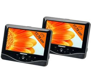 "17,78cm (7"") Tragb. Twin DVD-Player MEDION® LIFE® P72027 (MD 84106)"