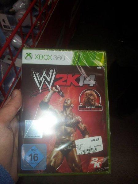 WWE 2k14 für 29,99€ bei Media Markt Köln [PS3 & Xbox 360] - Lokal?