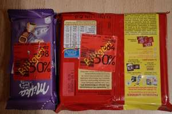 [Lokal Hamburg Stresemannstraße 300] KitKat Senses und Milka Alpenmilch Schokolade(MHD)